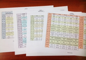 residential-schedules